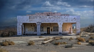 Death Valley USA Building Old Ruin Abandoned 1920x1080 Wallpaper