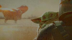 Baby Yoda The Mandalorian Tv Show 3840x1600 Wallpaper