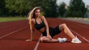 Women Model Long Hair Outdoors Women Outdoors Legs Looking At Viewer Blonde Necklace 2560x1707 Wallpaper