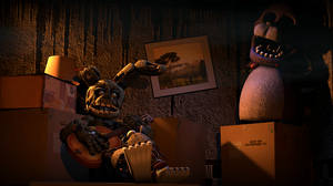 Video Game Five Nights At Freddy 039 S 3 4030x1985 Wallpaper