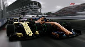 F1 2018 Formula 1 Mclaren Mclaren Mcl33 Renault Renault Rs18 Vehicle 2560x1440 Wallpaper