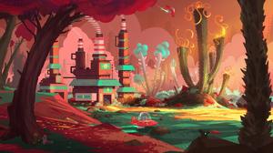 Sci Fi Landscape 5158x3000 Wallpaper