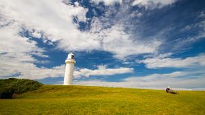 Landscape Australia Lighthouse Sky Clouds Outdoors 4752x3168 Wallpaper