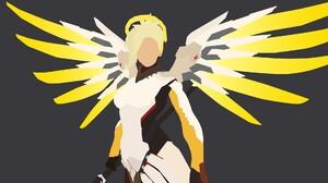 Mercy Overwatch 1920x1080 wallpaper