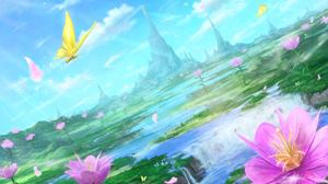 Anime Landscape 2000x1273 Wallpaper