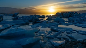Nature Sunlight Winter Ice Cold Sky Outdoors 2048x1152 Wallpaper