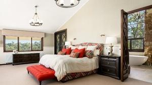 Bed Bedroom Furniture Room 2048x1365 Wallpaper