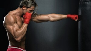 Boxing Man Model Sport 2880x1800 Wallpaper
