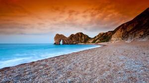 Beach Dorset Durdle Door Earth England Horizon Ocean Sand 1920x1200 wallpaper