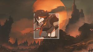 Ry Ko Matoi Girl Two Toned Hair 3840x2160 Wallpaper