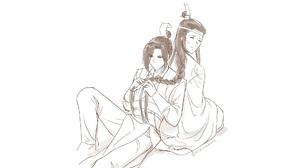 Jiang Cheng Jiang Wanyin Lan Huan Lan Xichen 1920x1200 Wallpaper