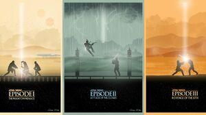 Anakin Skywalker Darth Maul Jango Fett Obi Wan Kenobi Qui Gon Jinn 5772x2718 Wallpaper
