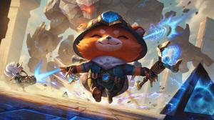 Teemo Teemo League Of Legends Hextech Explorer League Of Legends Riot Games Digital Art 4K 7680x4320 Wallpaper