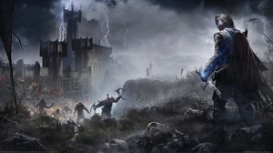 Video Game Middle Earth Shadow Of Mordor 2560x1440 Wallpaper