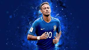 Brazilian Neymar Soccer 3840x2400 Wallpaper