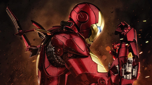 Iron Man 3545x1994 wallpaper
