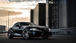 Toyota Car Sport Car Black Car 3840x2464 Wallpaper