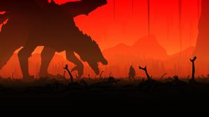 Dark Dark Souls Iii Dragon Monster 5160x2160 Wallpaper