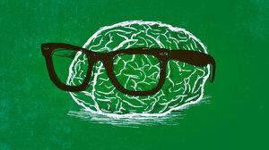 Brain Nerd Green 1920x1080 Wallpaper