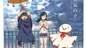 Hina Amano Hodaka Morishima Nagi Amano 5000x3768 wallpaper
