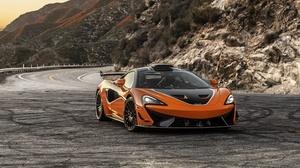 Mclaren Car Orange Car Sport Car Supercar 3840x2160 Wallpaper