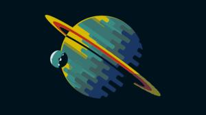 Planet Colors Minimalist 3508x2481 Wallpaper
