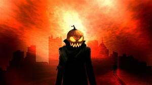 Jack O 039 Lantern Pumpkin Man Coat 1920x1080 wallpaper