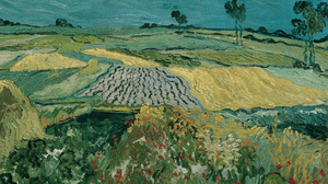 Vincent Van Gogh Painting Oil Painting Oil On Canvas Impressionism 5690x2382 Wallpaper