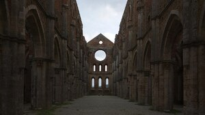 Architecture Building Old Building Monastery Tuscany Italy Ruin Medieval Abandoned 1280x968 Wallpaper