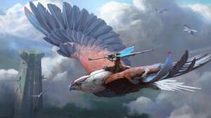 Fantasy Bird 1920x1080 wallpaper
