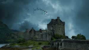 Man Made Eilean Donan Castle 2560x1600 Wallpaper