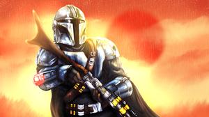 Star Wars The Mandalorian Character 5759x3111 Wallpaper