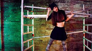 Model Polish Brunette Hat Skirt 1800x930 wallpaper