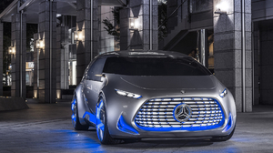 Car Concept Car Mercedes Mercedes Benz Vision Tokyo Silver Car 1920x1200 Wallpaper