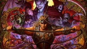 Dave Rapoza Castlevania Simon Belmont Castlevania Dracula Frankenstein Mummy Bats Vampire Anime Medu 2047x1427 Wallpaper