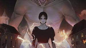 Anime Anime Girls Aoi Ogata Vertical Shingeki No Kyojin Titan 1715x2143 Wallpaper