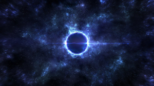 Black Hole Space 3840x2160 wallpaper
