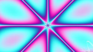 Abstract Artistic Colors Digital Art Gradient Kaleidoscope Pattern Star 1920x1080 Wallpaper