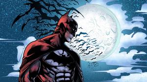Bat Batman Dc Comics Moon 3840x2160 wallpaper