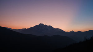 Mountain Sunset 3840x2160 Wallpaper