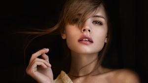 Anastasiya Scheglova Brunette Face Model Woman 2048x1368 wallpaper