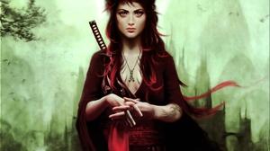 Fantasy Women Warrior 2560x1600 Wallpaper