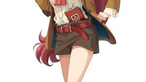 Anime Girls Kouya No Kotobuki Hikoutai Redhead 2082x4096 Wallpaper