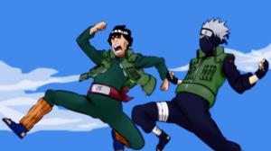 Kakashi Hatake Might Guy 2560x1600 Wallpaper
