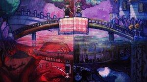 Omori Video Game Sunny Omori Basil Omori Boy Omori Character Bridge 2048x1384 Wallpaper