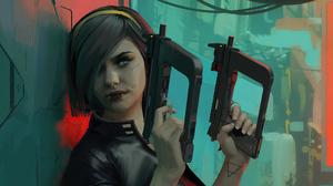 Girl Weapon Woman Warrior 3840x2160 Wallpaper
