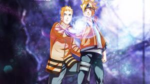 Naruto Naruto Uzumaki Boruto Uzumaki 1856x1100 Wallpaper