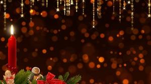 Angel Candle Christmas 6508x4480 Wallpaper