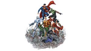Aquaman Batman Cyborg Dc Comics Dc Comics Flash Green Lantern Justice League Superman Wonder Woman 1920x1080 Wallpaper