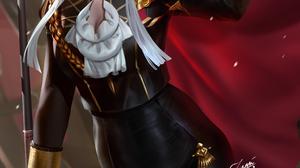 Edelgard Von Hresvelg Fire Emblem Fire Emblem Three Houses Video Games Women White Hair Long Hair Lo 2339x3508 Wallpaper